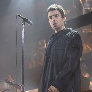 Liam Gallagher in Stone Island